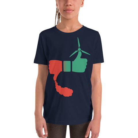 Solar Vs Coal - Youth Short Sleeve T-Shirt