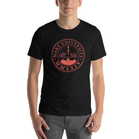 Mars University - Short-Sleeve Unisex T-Shirt