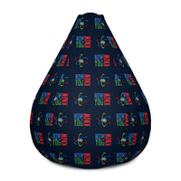 Now You Know Brain Logo - Bean Bag Chair w/ filling
