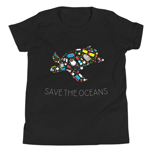 Save the Oceans - Youth Short Sleeve T-Shirt