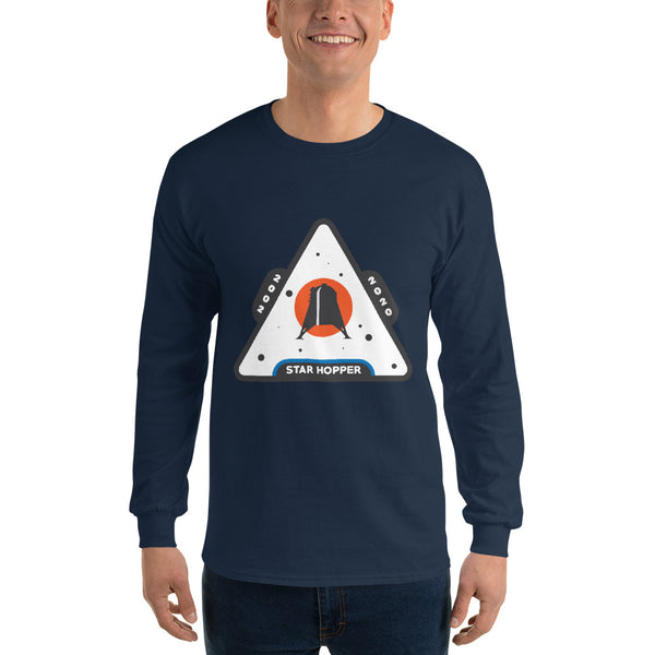 Starhopper Patch - Long Sleeve T-Shirt