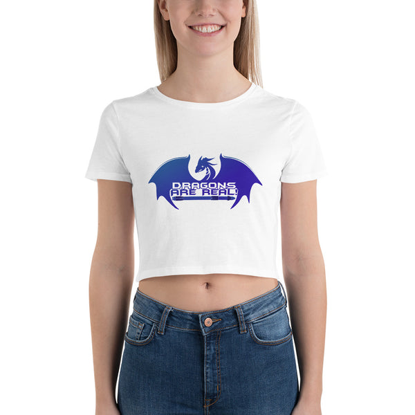 Dragons are Real - Women's Crop Tee