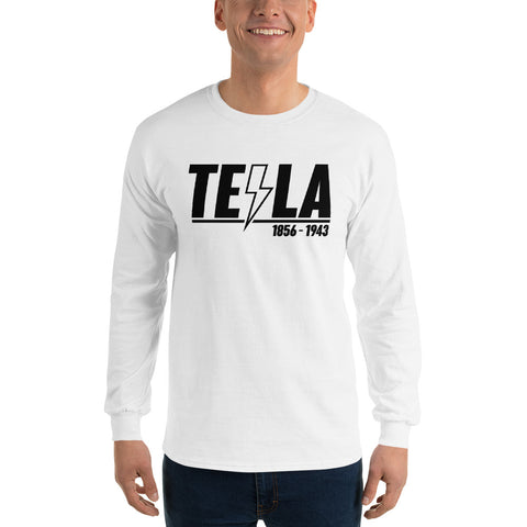 TEϟLA 1856 - 1943 - Long Sleeve T-Shirt