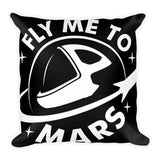 Fly Me To Mars - Basic Pillow