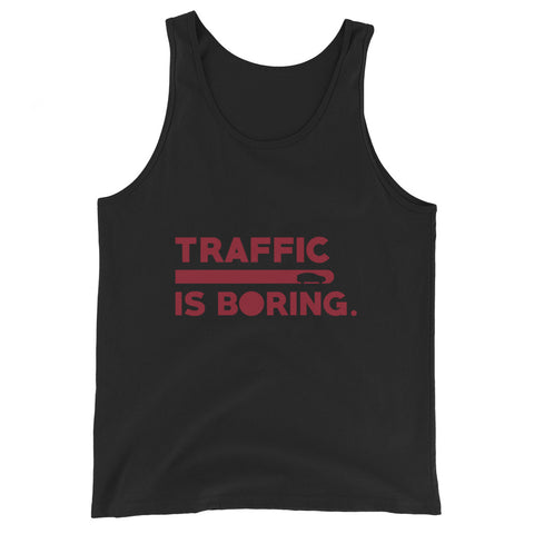 Traffic is Boring - Model X - Unisex  Tank Top