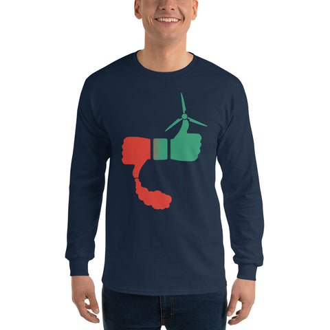 Solar Vs Coal - Long Sleeve T-Shirt