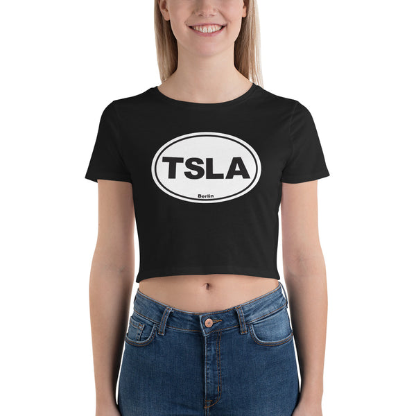 TSLA Berlin - Women's Crop Tee