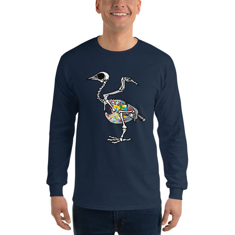 Plastic Bird - Men's Long Sleeve Shirt