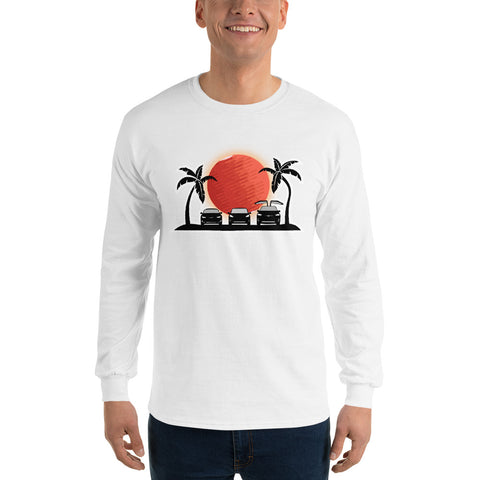 S3X on the Beach Mars - Long Sleeve T-Shirt