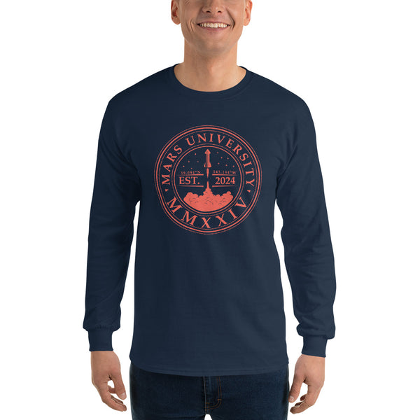Mars University - Men's Unisex Long Sleeve Shirt