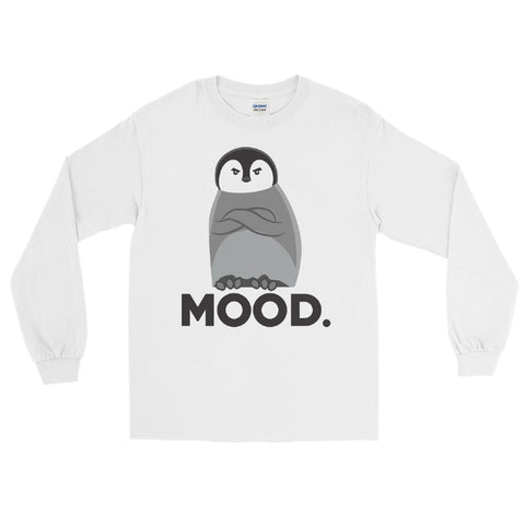 Judgemental Penguin - Long Sleeve T-Shirt