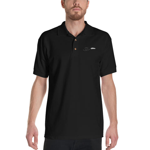 EV Love Line - Embroidered Polo Shirt