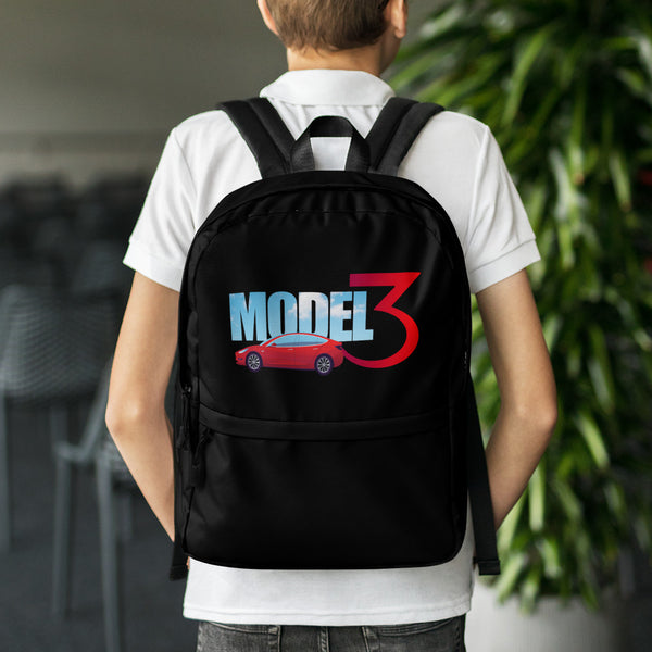 Red Model 3 Sky - Backpack