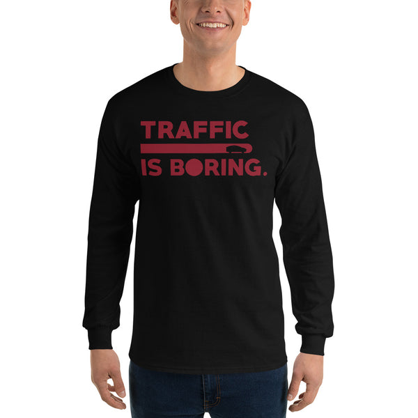Traffic is Boring - Model X - Unisex Long Sleeve Shirt