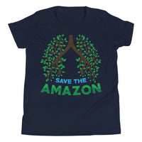 Amazon Tree Lungs - Youth Short Sleeve T-Shirt