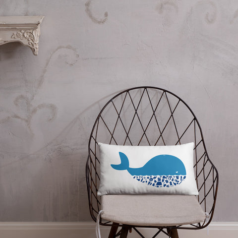 Plastic Diet - Whale - Basic Pillow