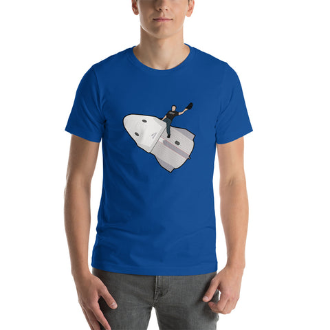 Elon Riding Dragon Capsule - Short-Sleeve Unisex T-Shirt