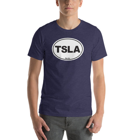 TSLA Berlin - Short-Sleeve Unisex T-Shirt