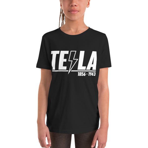 TEϟLA 1856 - 1943 - Youth Short Sleeve T-Shirt