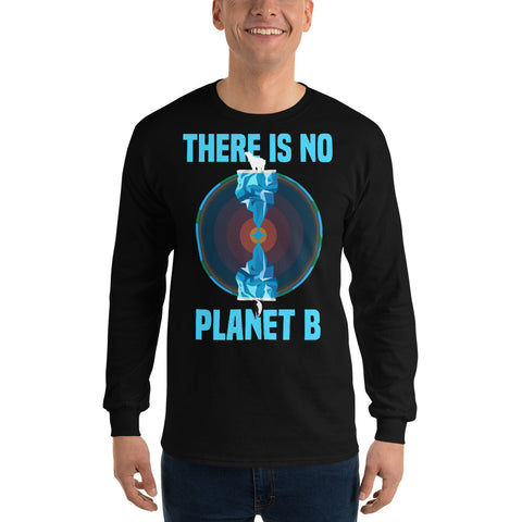There is no planet B North and South - Long Sleeve T-Shirt