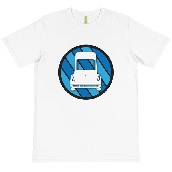 Tesla Semi Icon - Organic T-Shirt
