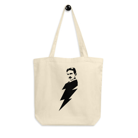Nikola Lightning Bolt - Eco Tote Bag