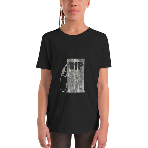 RIP ICE Cars - Youth Short Sleeve T-Shirt