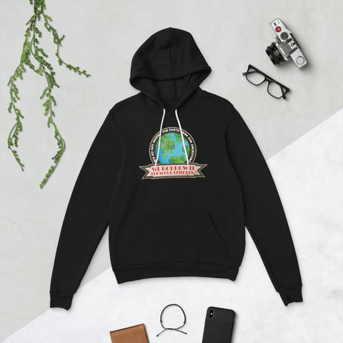 We do not inherit the earth from our ancestors - Unisex hoodie