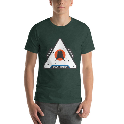 Starhopper Patch - Short-Sleeve Unisex T-Shirt