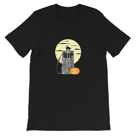 RIP ICE Cars Halloween Version - Short-Sleeve Unisex T-Shirt