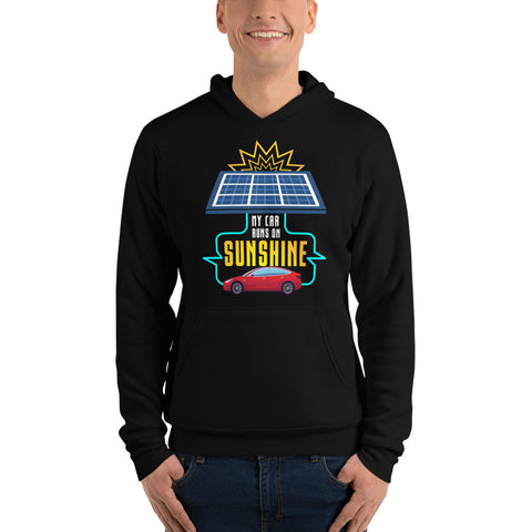 My Car Runs on Sunshine - Unisex hoodie