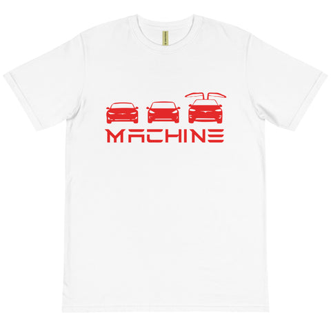 S 3 X Machine - Organic T-Shirt