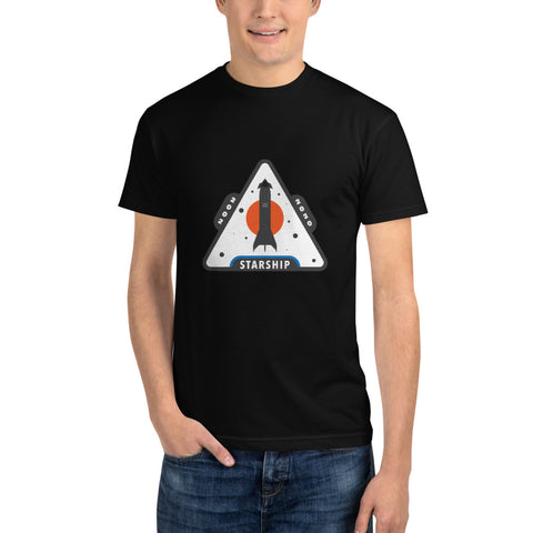 Starship Patch Design 2 - Sustainable T-Shirt