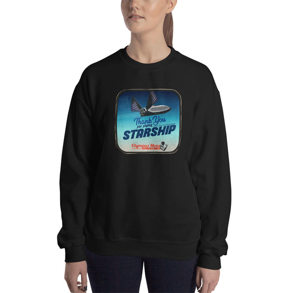 Thank You For Flying Starship - Woman's Crew Neck