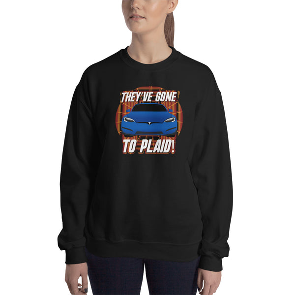 They've Gone to Plaid - Woman's Crew Neck Sweatshirt