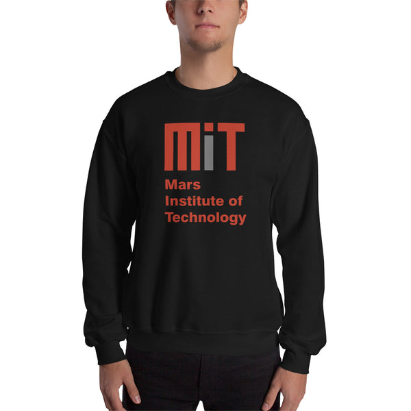 Mars Institute of Technology - Men's Crew Neck Sweatshirt