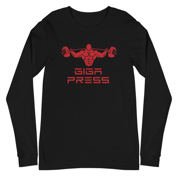 Giga Press - Unisex Long Sleeve Tee