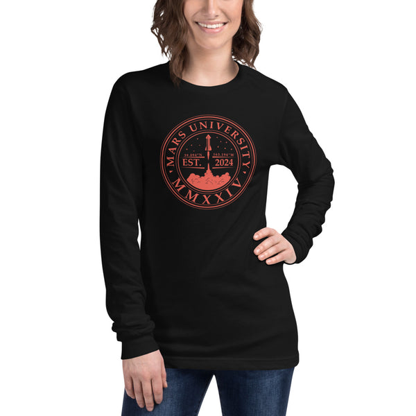 Mars University - Womens Long Sleeve Tee