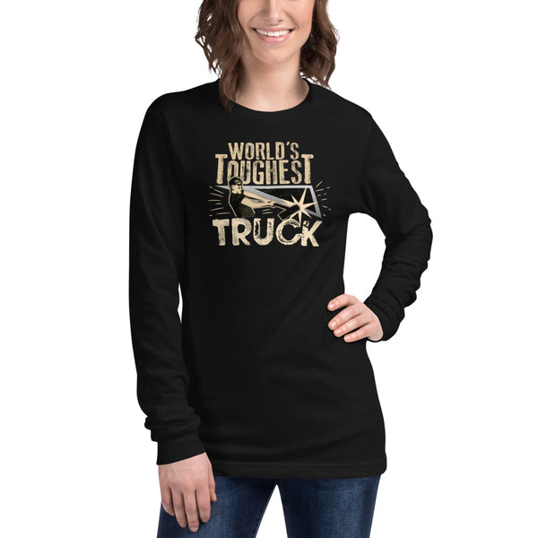 World's Toughest Truck - Womens Long Sleeve Tee