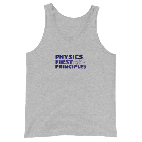 Physics First Principles - Unisex Tank Top