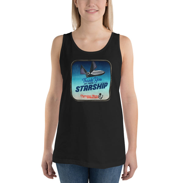Thank You For Flying Starship - Women's Tank Top