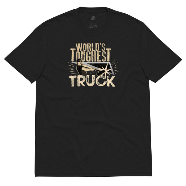 World's Toughest Truck - Unisex Recycled T-Shirt