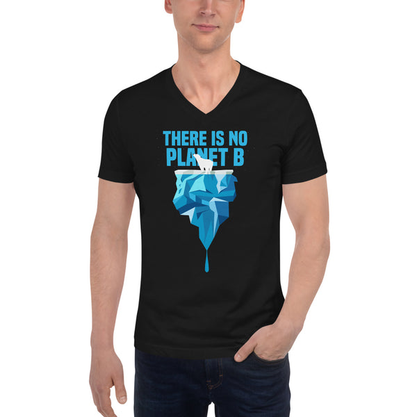 There is no Planet B - Polar Bear - Men's V-Neck