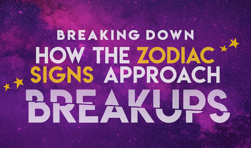 Breaking Down How The Zodiac Signs Approach Breakups