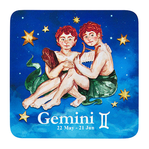 Image of Bespoke Celestial Horoscope Beverage Coasters - Star Set (1 Set of 6, 6 Total)