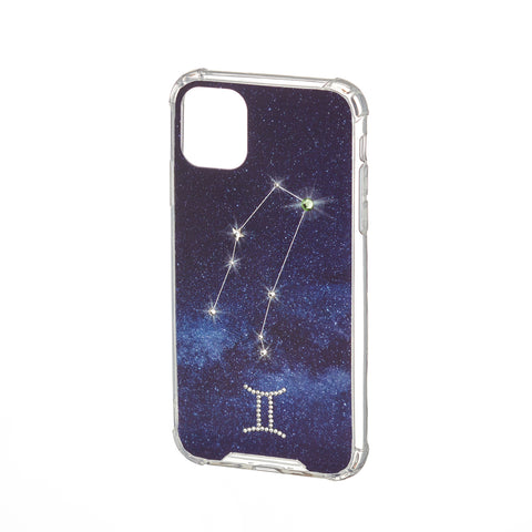 Image of Swarovski Crystal-Inspired Horoscope Star Sign Constellation Phone Case (GEMINI)