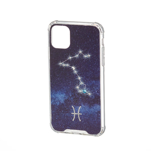 Swarovski Crystal-Inspired Horoscope Star Sign Constellation Phone Case (PISCES)