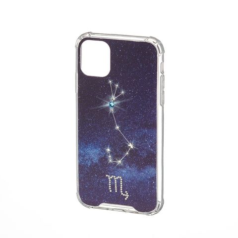 Image of Swarovski Crystal-Inspired Horoscope Star Sign Constellation Phone Case (SCORPIO)