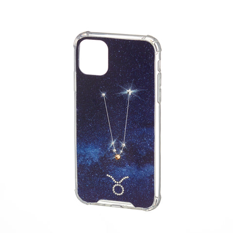 Image of Swarovski Crystal-Inspired Horoscope Star Sign Constellation Phone Case (TAURUS)