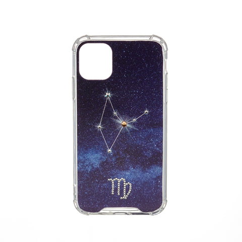 Swarovski Crystal-Inspired Horoscope Star Sign Constellation Phone Case (VIRGO)